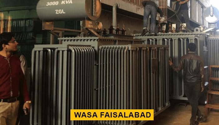 WASA Faisalabad